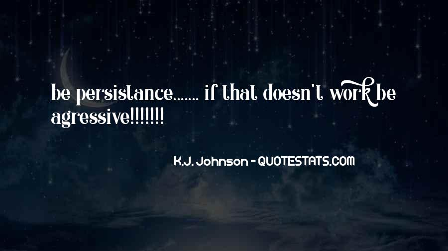 Quotes About Persistance #1869222