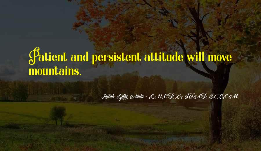 Quotes About Persistance #767537
