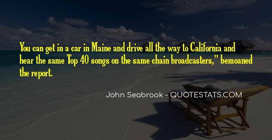 Quotes About Radio Broadcasters #1206116