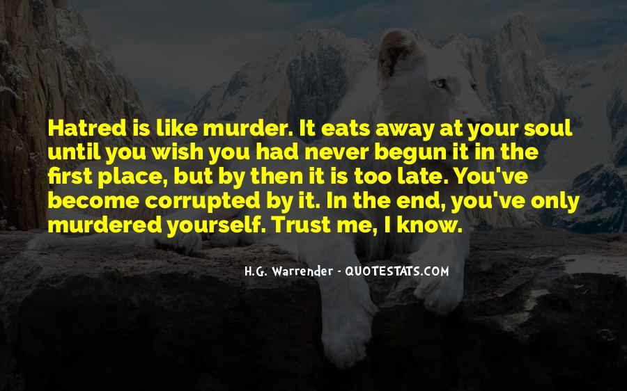 Quotes About Know Your Place #1007367