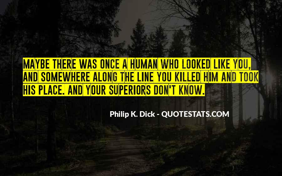 Quotes About Know Your Place #104219
