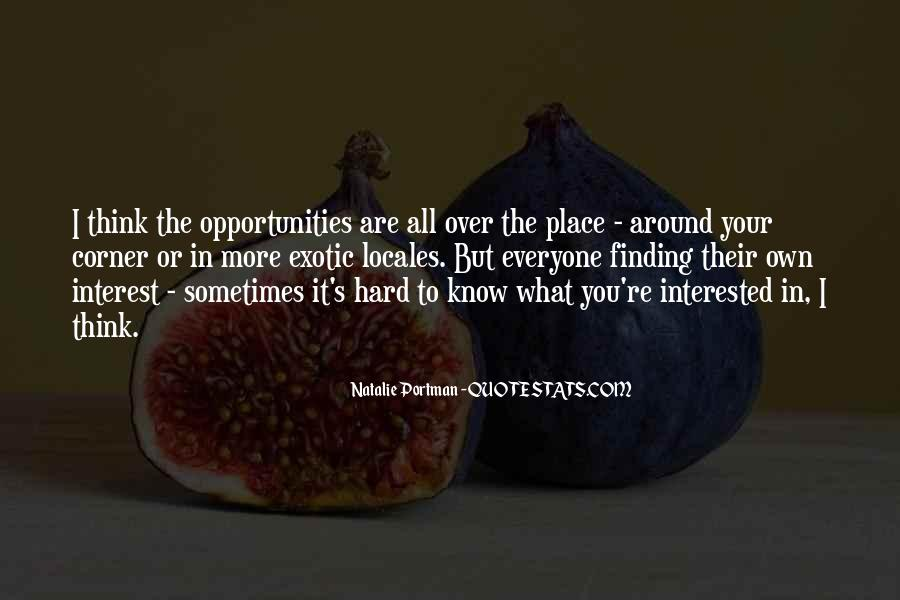 Quotes About Know Your Place #1056842