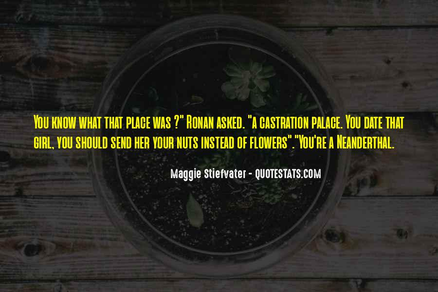Quotes About Know Your Place #1076593