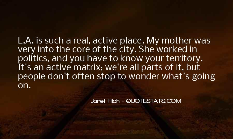 Quotes About Know Your Place #13934