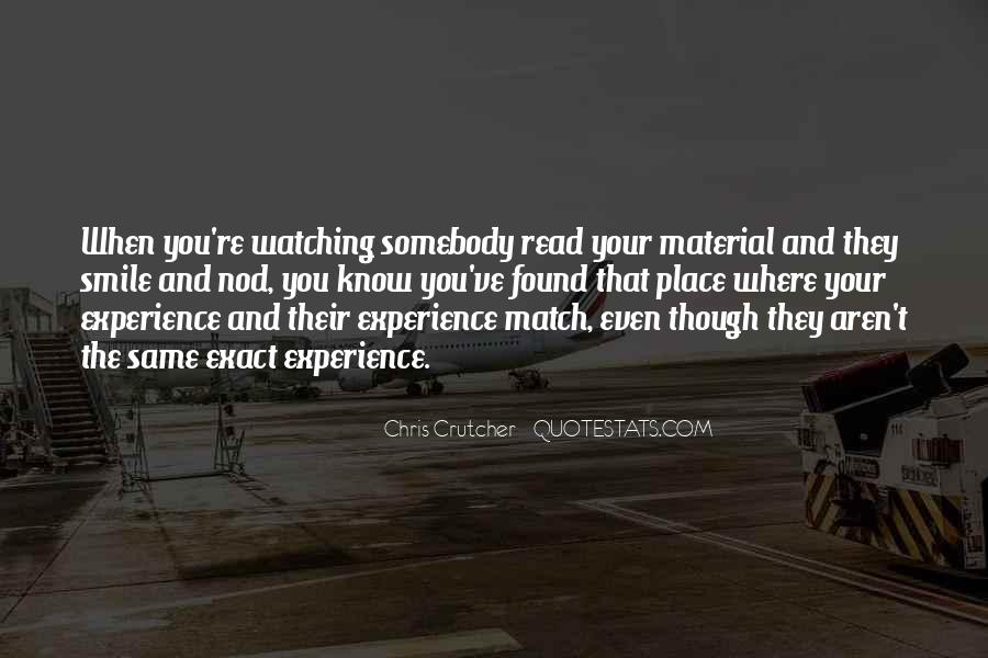 Quotes About Know Your Place #164486