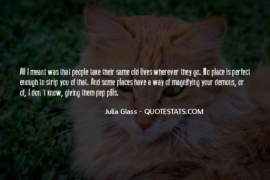 Quotes About Know Your Place #288568