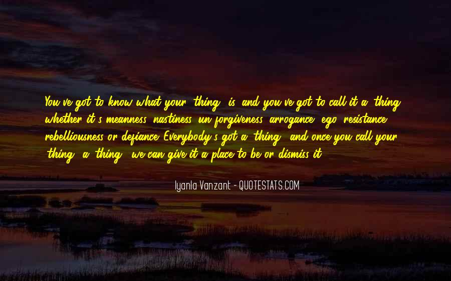 Quotes About Know Your Place #426235
