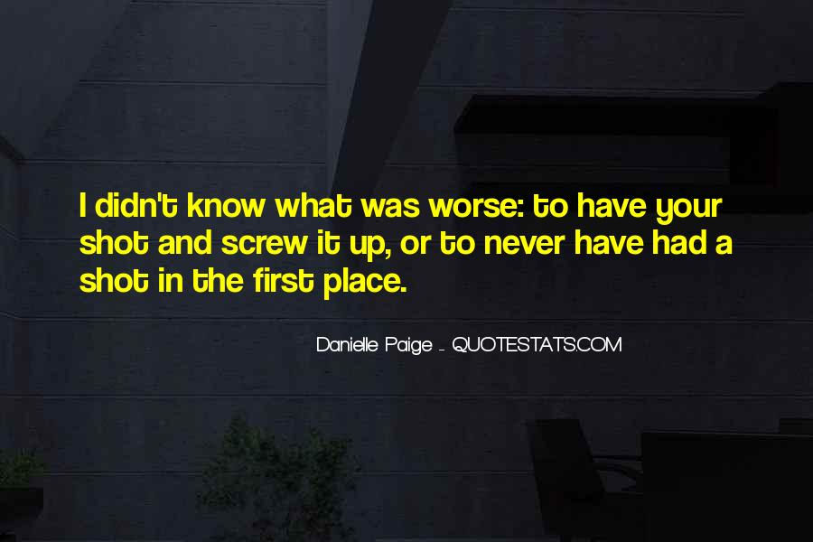 Quotes About Know Your Place #485399