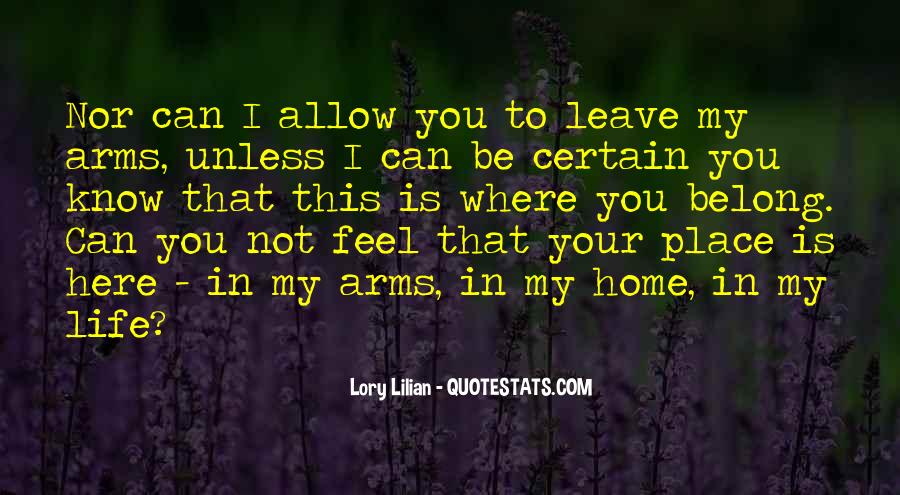 Quotes About Know Your Place #564391