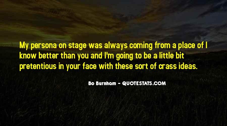 Quotes About Know Your Place #731557