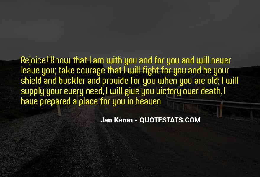 Quotes About Know Your Place #844931