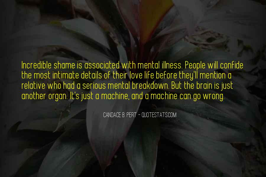 Quotes About Serious Illness #1403293