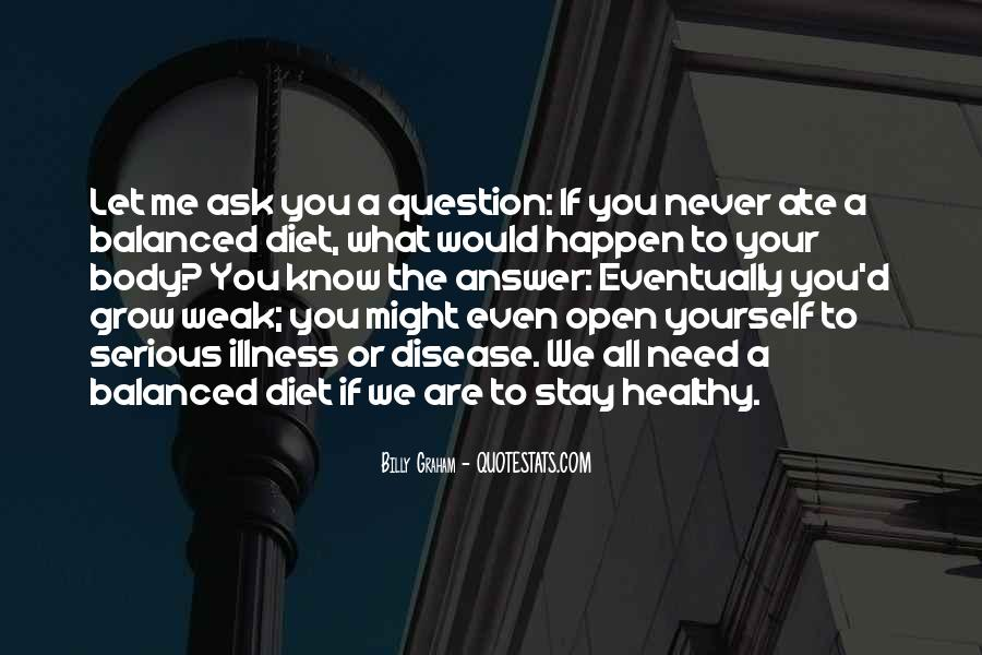 Quotes About Serious Illness #92594