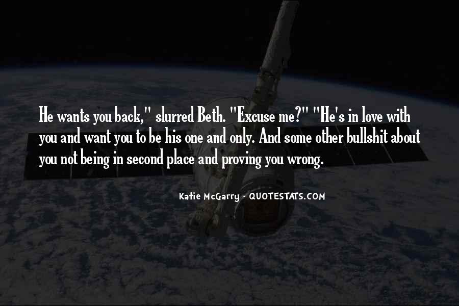 Quotes About He Wants Me Back #1504363