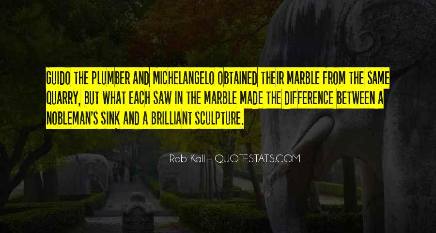 Quotes About Sculpture By Michelangelo #857260