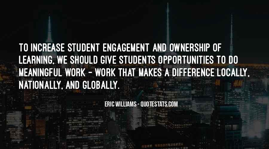 Quotes About Student Engagement #765893