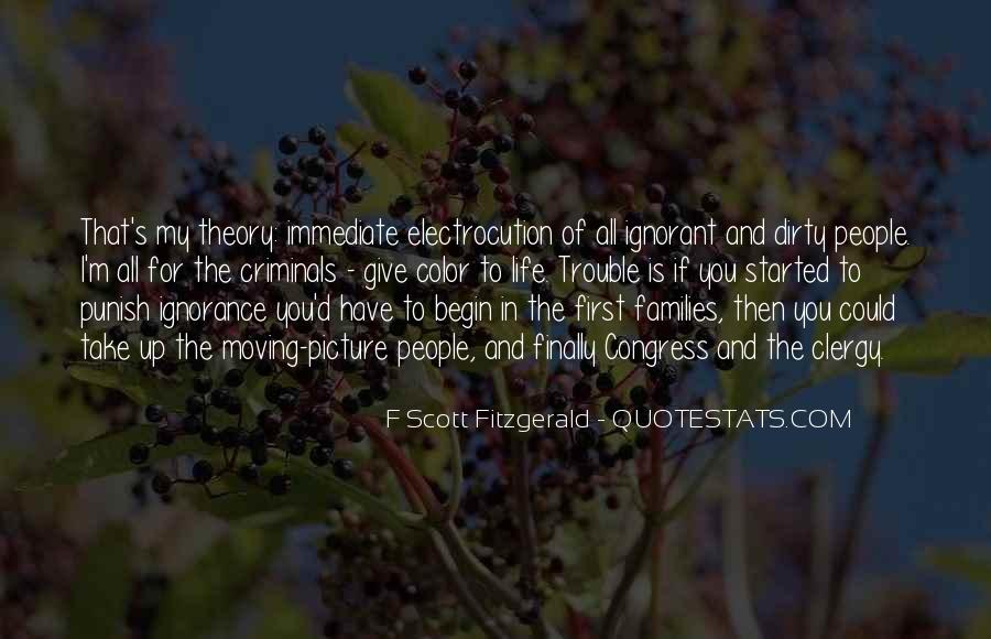Quotes About Life F Scott Fitzgerald #1029045