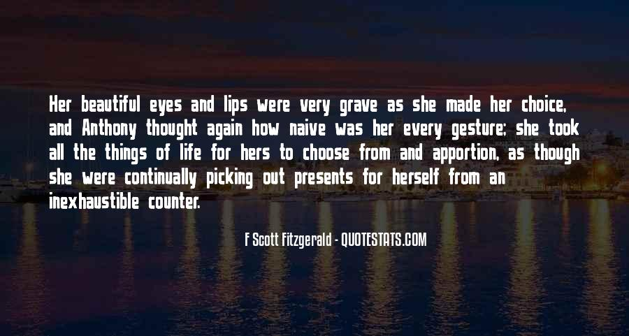 Quotes About Life F Scott Fitzgerald #1128697