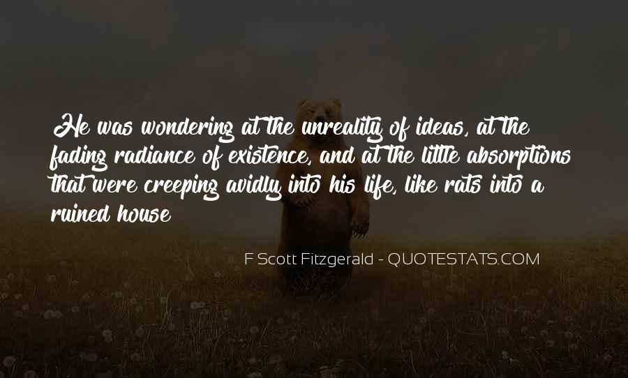 Quotes About Life F Scott Fitzgerald #1189847