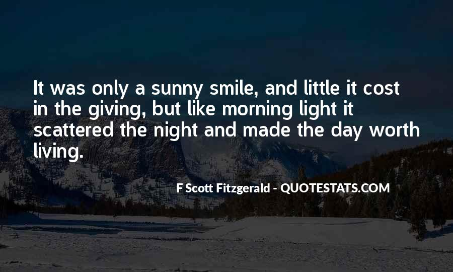 Quotes About Life F Scott Fitzgerald #125737