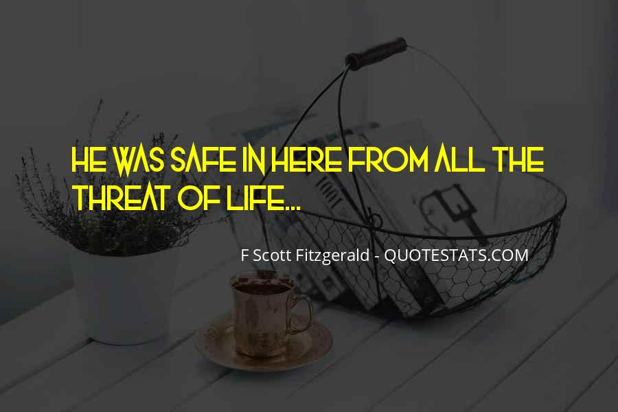 Quotes About Life F Scott Fitzgerald #1299752