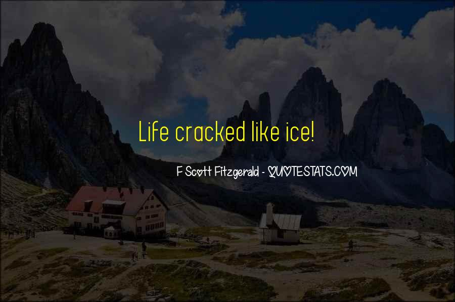 Quotes About Life F Scott Fitzgerald #1318108