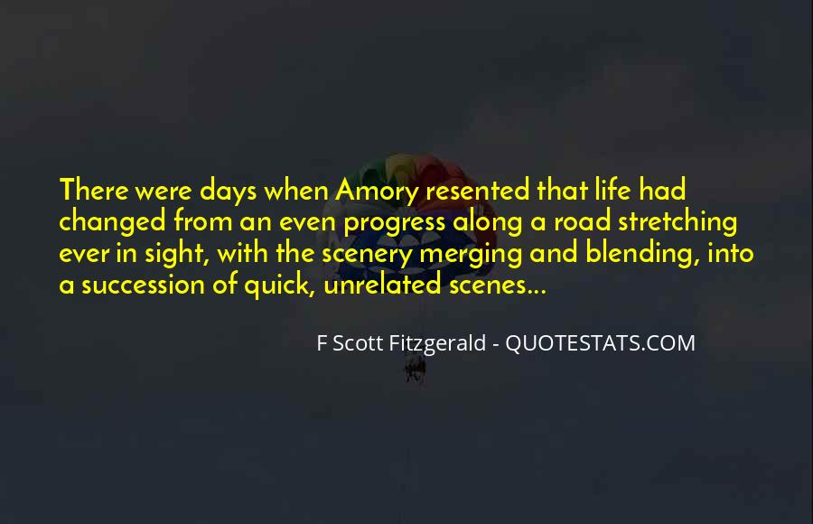 Quotes About Life F Scott Fitzgerald #1374118