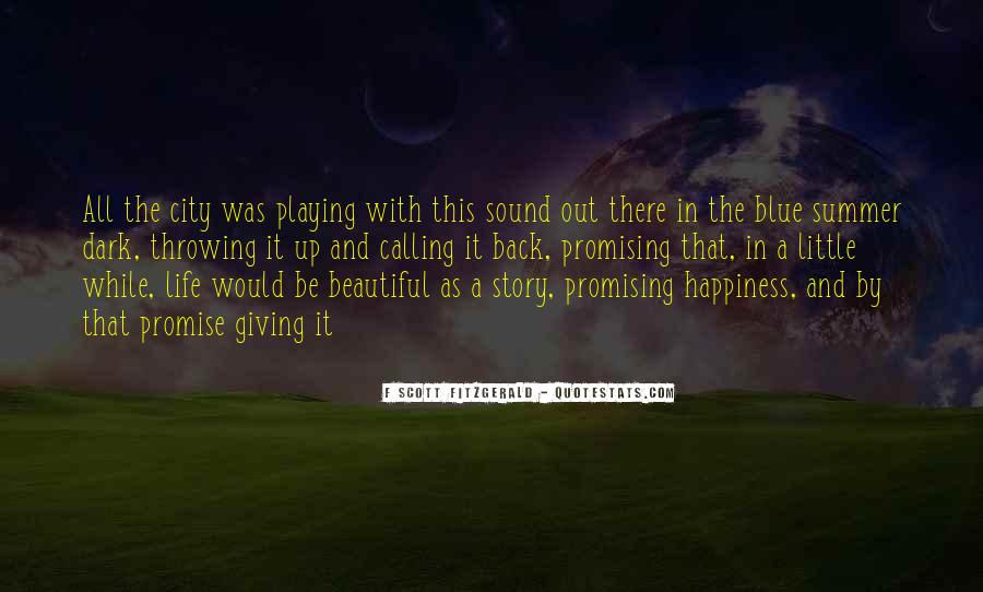 Quotes About Life F Scott Fitzgerald #1374508