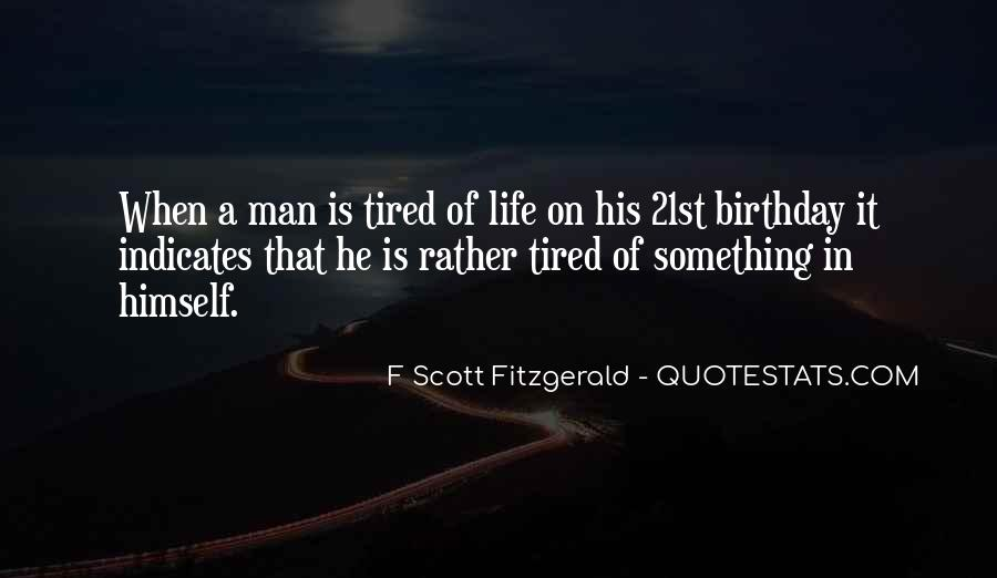 Quotes About Life F Scott Fitzgerald #1489015