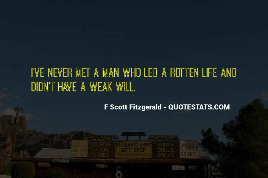 Quotes About Life F Scott Fitzgerald #1539762