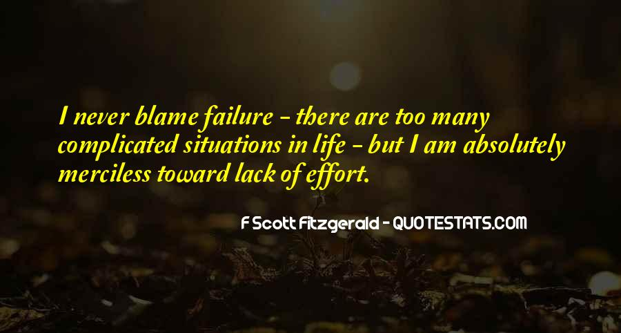 Quotes About Life F Scott Fitzgerald #154142