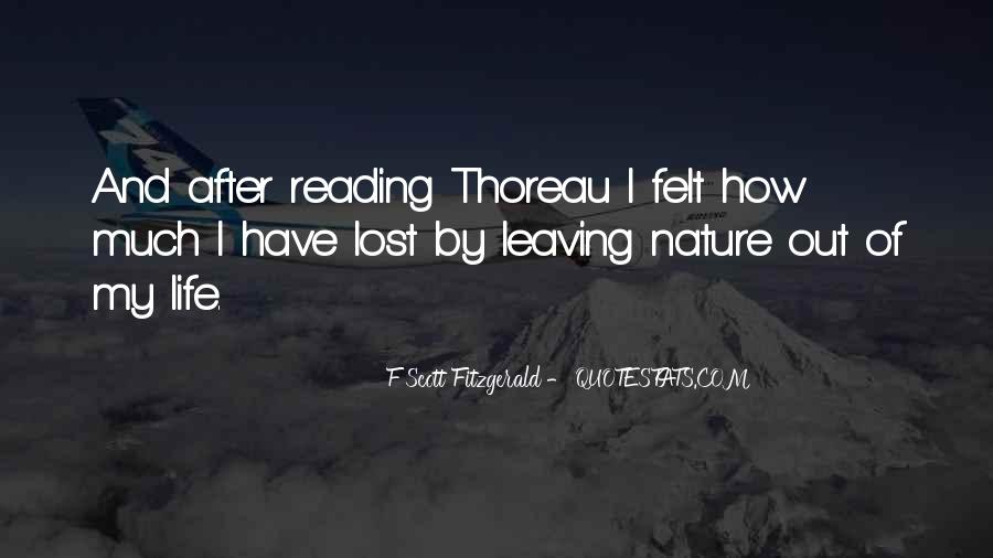 Quotes About Life F Scott Fitzgerald #285163