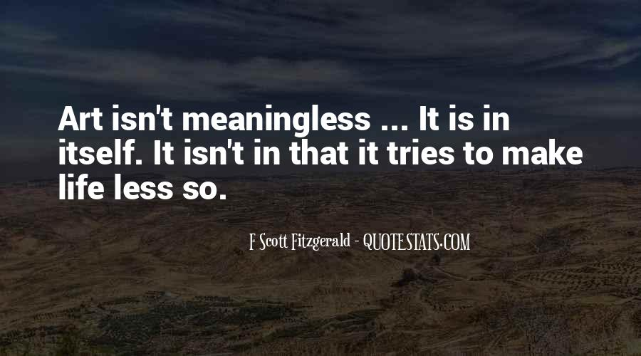 Quotes About Life F Scott Fitzgerald #298881