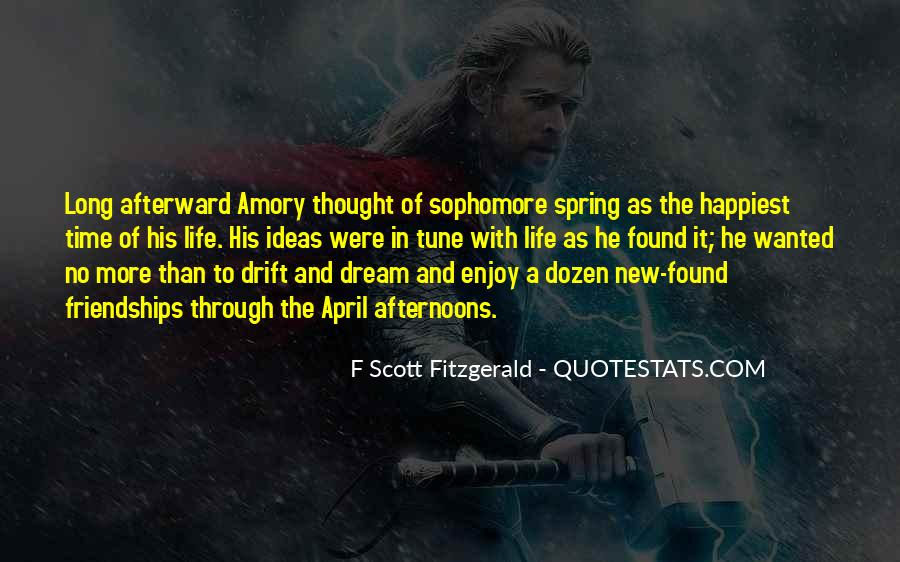 Quotes About Life F Scott Fitzgerald #341372