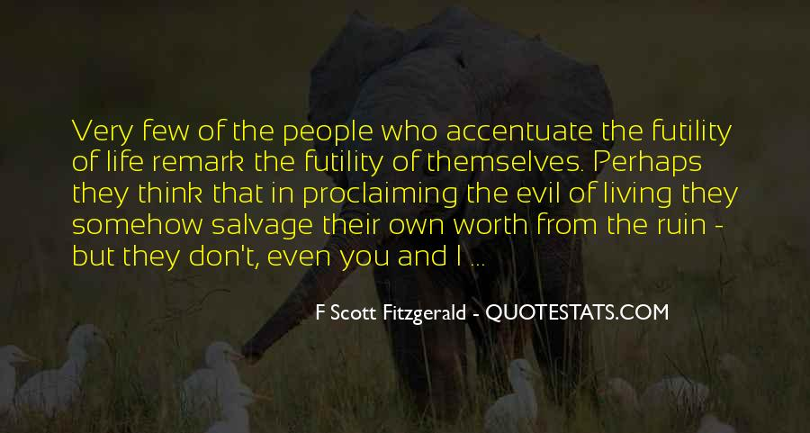 Quotes About Life F Scott Fitzgerald #363234