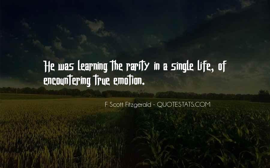 Quotes About Life F Scott Fitzgerald #41809