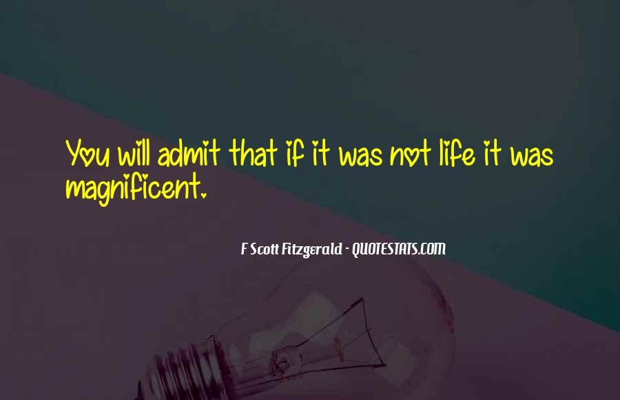 Quotes About Life F Scott Fitzgerald #44000