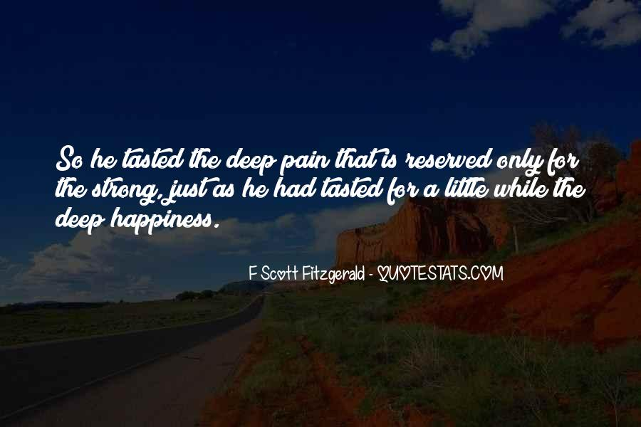 Quotes About Life F Scott Fitzgerald #445023