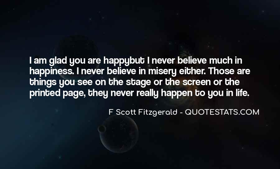 Quotes About Life F Scott Fitzgerald #453907