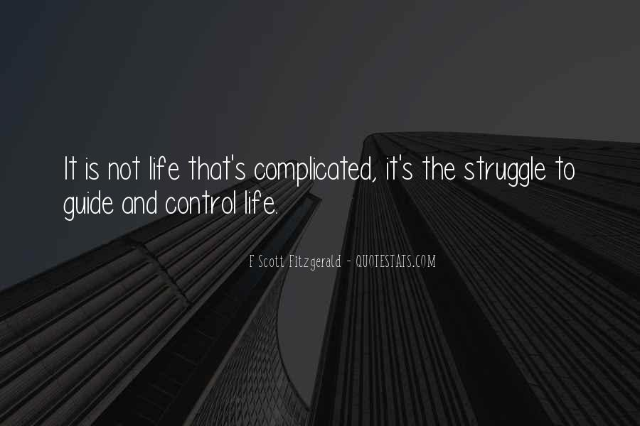 Quotes About Life F Scott Fitzgerald #558005