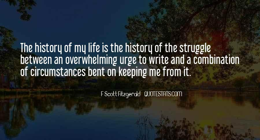 Quotes About Life F Scott Fitzgerald #603283