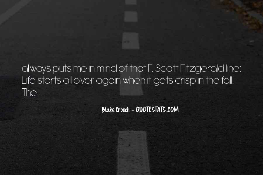 Quotes About Life F Scott Fitzgerald #611471