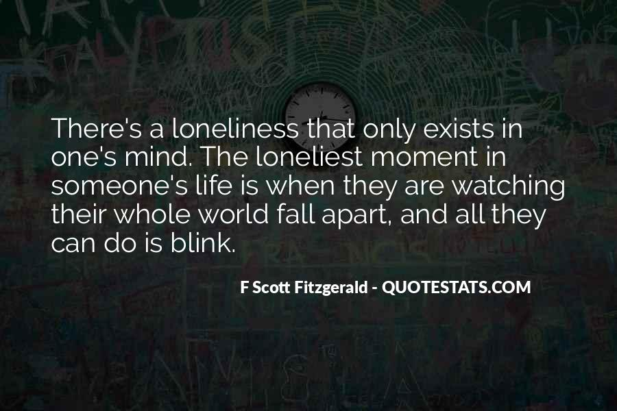 Quotes About Life F Scott Fitzgerald #611645