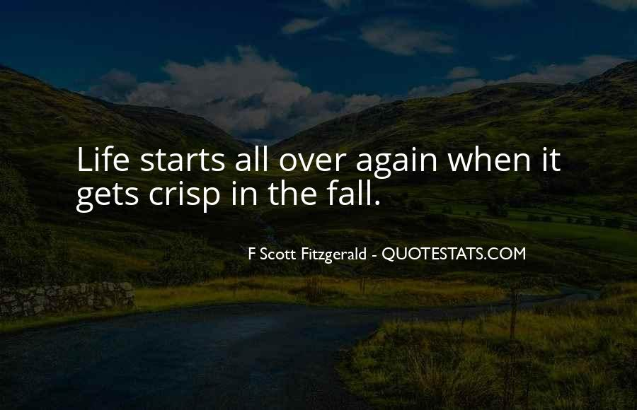 Quotes About Life F Scott Fitzgerald #735903