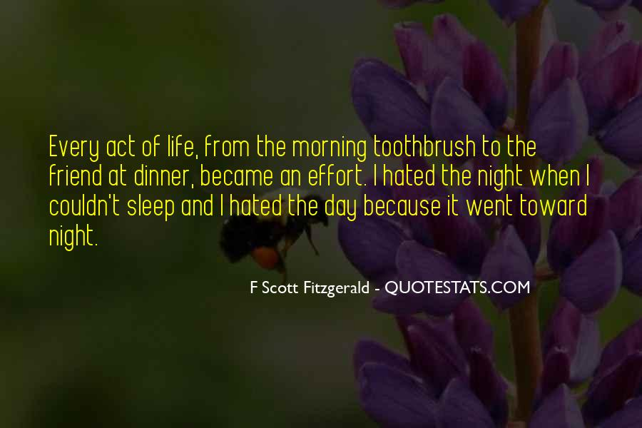 Quotes About Life F Scott Fitzgerald #781368