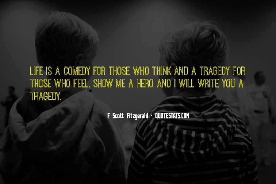 Quotes About Life F Scott Fitzgerald #880704