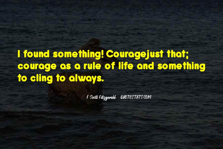 Quotes About Life F Scott Fitzgerald #894236