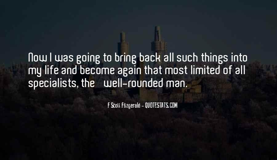 Quotes About Life F Scott Fitzgerald #956407