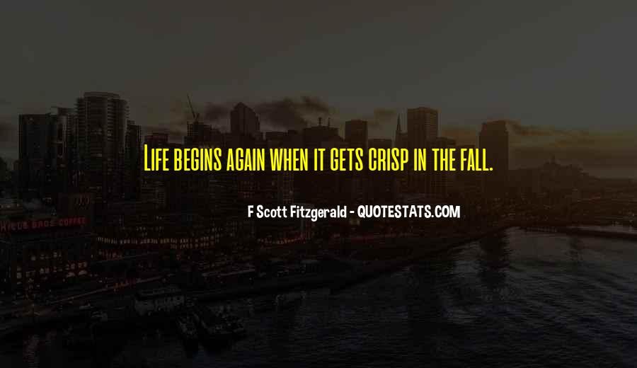 Quotes About Life F Scott Fitzgerald #978432
