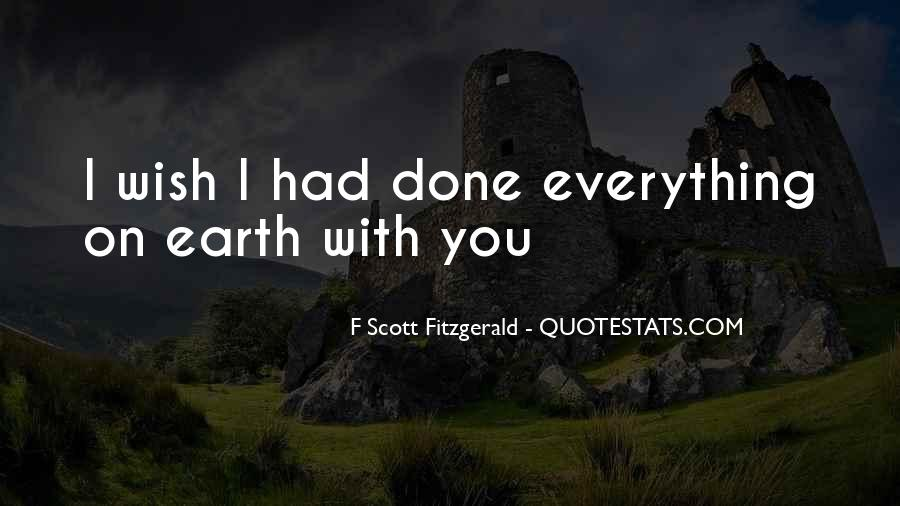 Quotes About Life F Scott Fitzgerald #992939